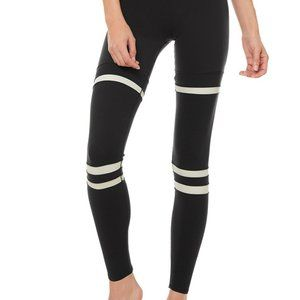 ALO Yoga High-Waist Legging Around Town Black/Bone
